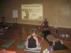 Teaching Yoga Anatomy at Saul David Raye's Teacher Training